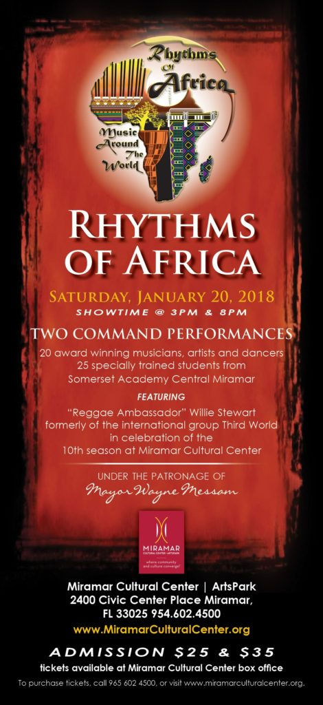Rhythms Of Africa Flyer